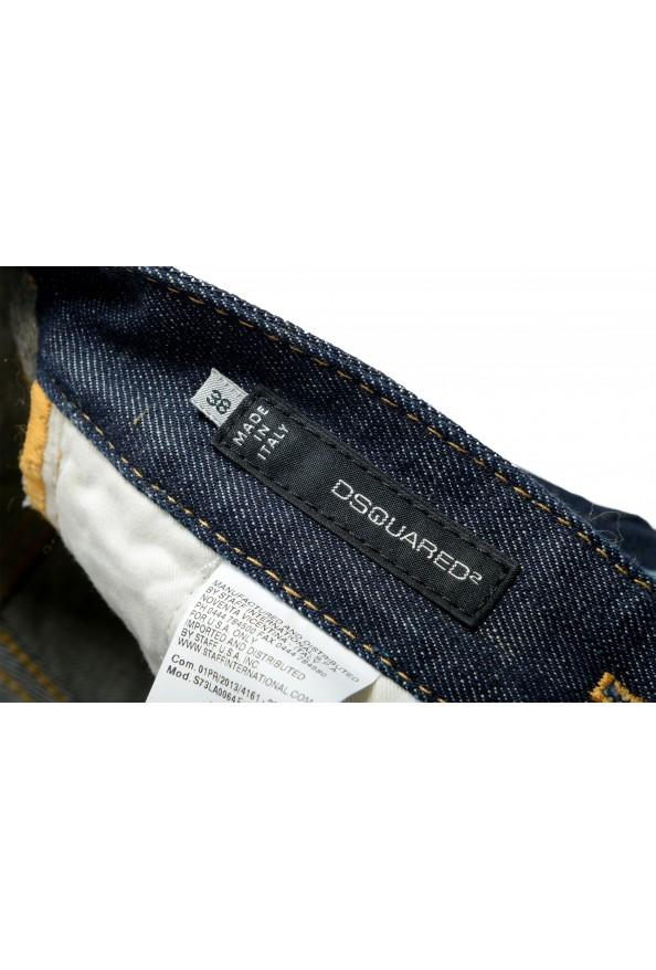 "Dsquared2 Women's ""Pat Jean"" Dark Blue Skinny Jeans: Picture 4"