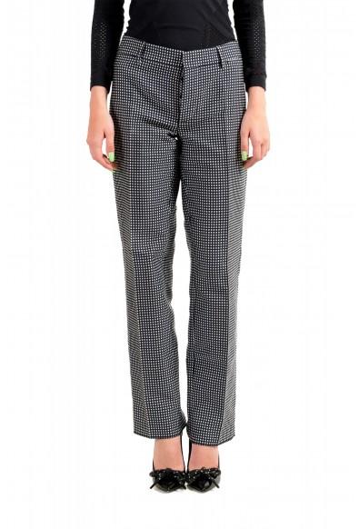 Dsquared2 Women's Multi-Color Plaid Flat Front Pants