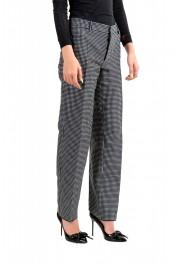 Dsquared2 Women's Multi-Color Plaid Flat Front Pants: Picture 2
