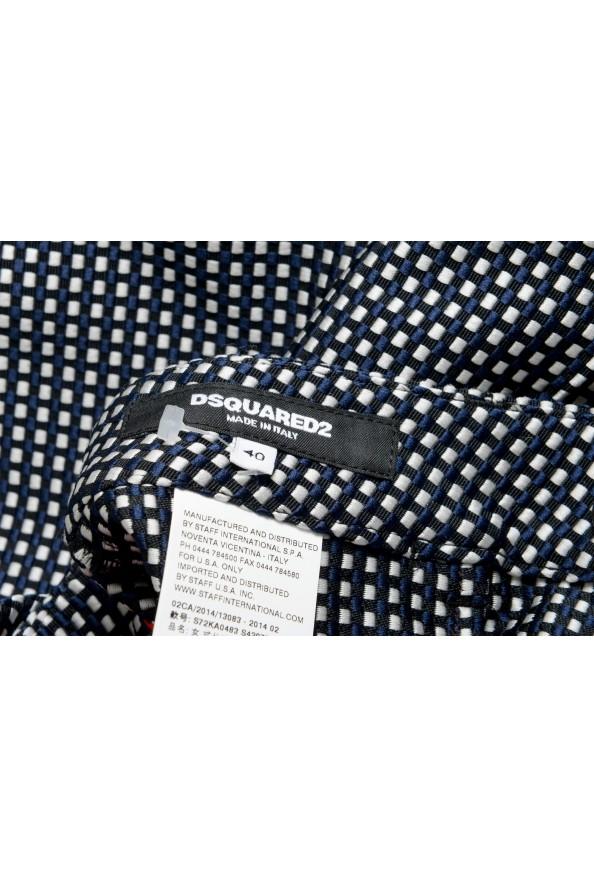 Dsquared2 Women's Multi-Color Plaid Flat Front Pants: Picture 4
