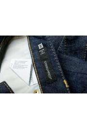 "Dsquared2 Women's ""Biker Jean"" Dark Blue Cropped Jeans: Picture 5"