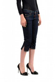 "Dsquared2 Women's ""Capri Jean"" Dark Blue Cropped Capri Jeans: Picture 2"