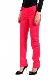 Dsquared2 Women's Bright Pink Flat Front Pants : Picture 2