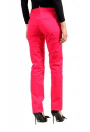 Dsquared2 Women's Bright Pink Flat Front Pants : Picture 3