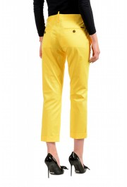 Dsquared2 Women's Bright Yellow Flat Front Pants : Picture 3