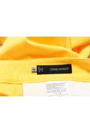 Dsquared2 Women's Bright Yellow Flat Front Pants : Picture 4