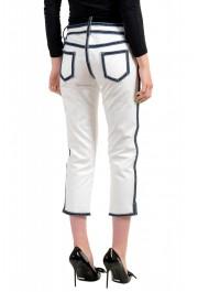 Dsquared2 Women's White Cropped Capri Jeans: Picture 3