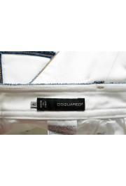 Dsquared2 Women's White Cropped Capri Jeans: Picture 4