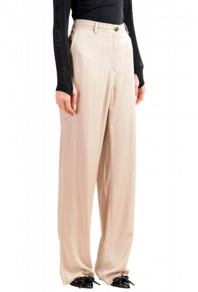 Maison Margiela Women's Gray Flat Front Pants : Picture 2