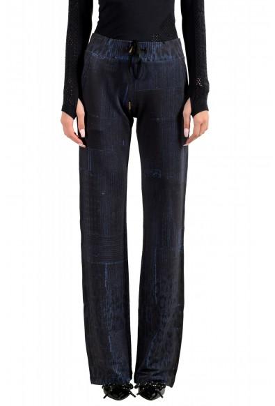 "Roberto Cavalli ""Gym"" Women's Blue Sweatpants Pants"