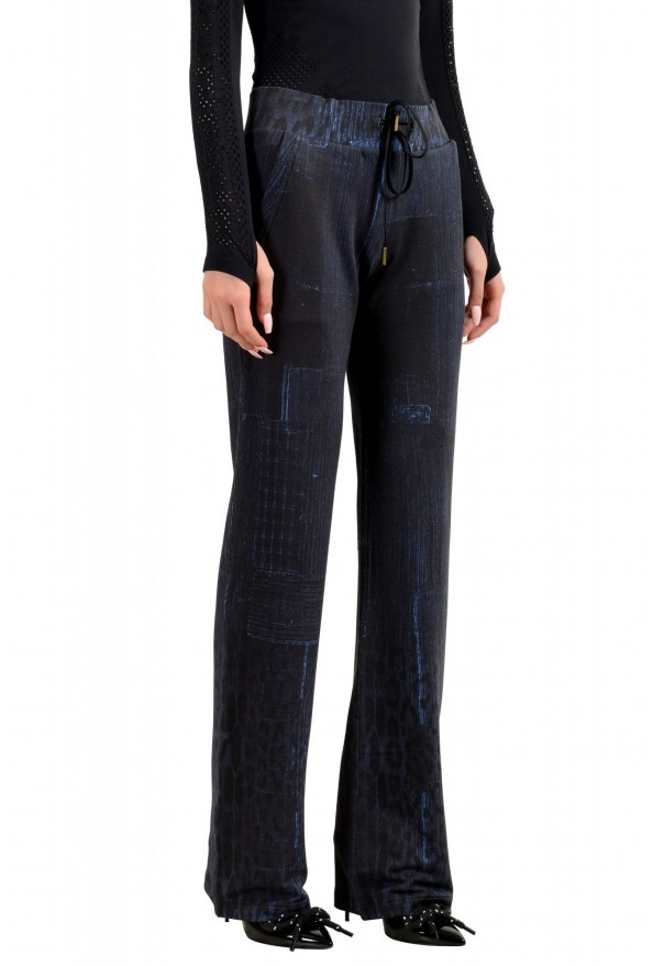 "Roberto Cavalli ""Gym"" Women's Blue Sweatpants Pants : Picture 2"