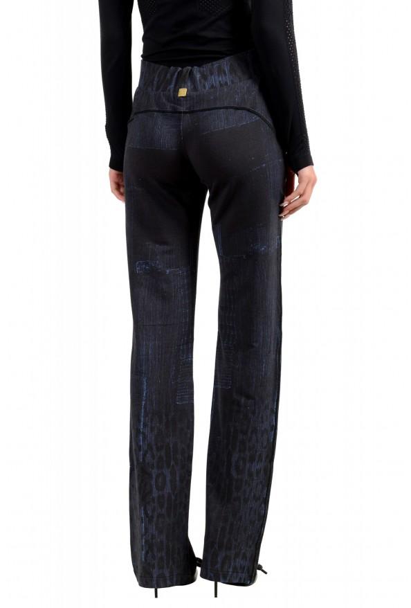"Roberto Cavalli ""Gym"" Women's Blue Sweatpants Pants : Picture 3"