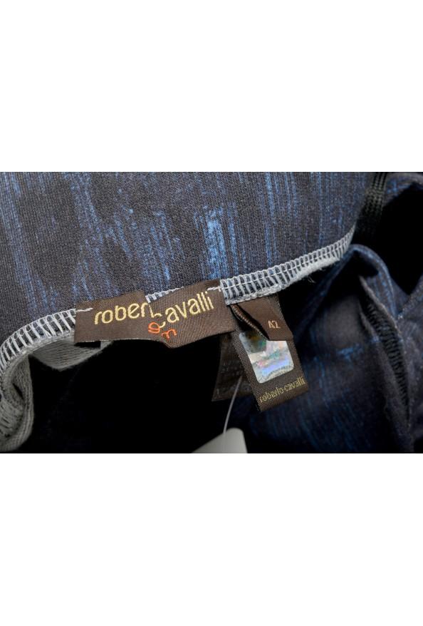 "Roberto Cavalli ""Gym"" Women's Blue Sweatpants Pants : Picture 5"
