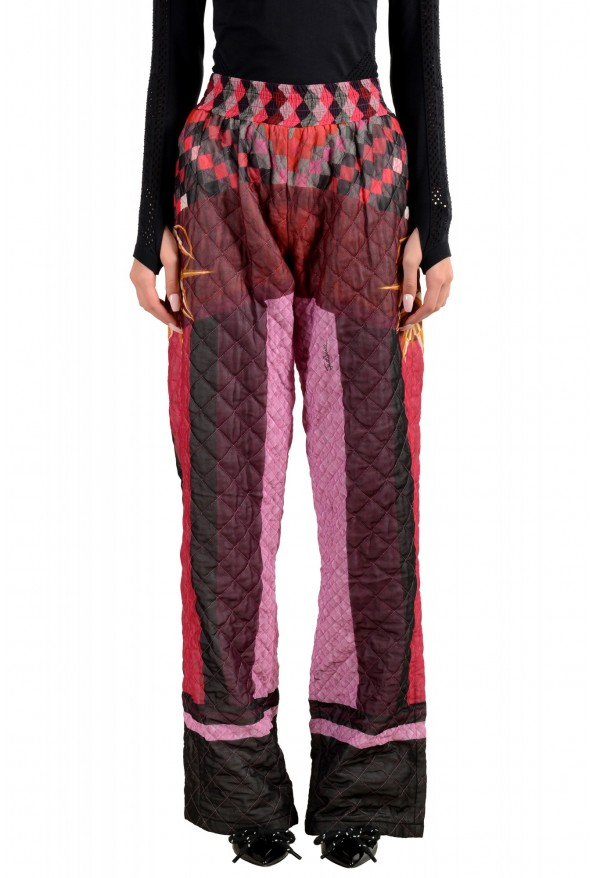Just Cavalli Women's Multi-Color Insulated Casual Pants