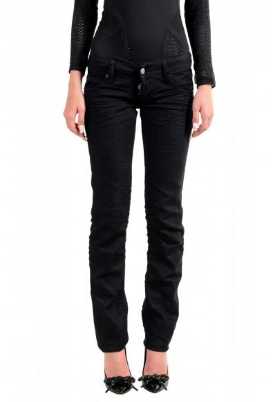 "Dsquared2 Women's ""Slim Jean"" Dark Blue Slim Jeans"