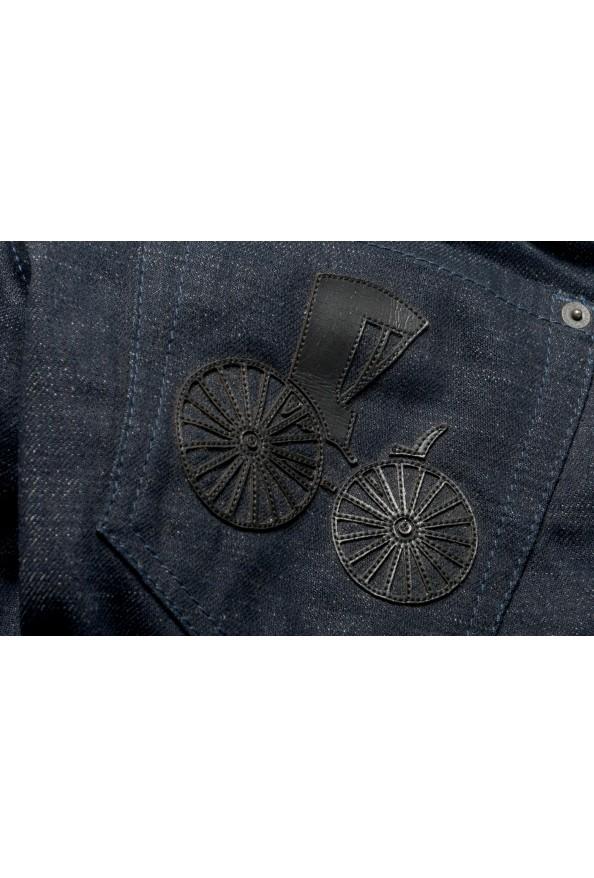 "Dsquared2 Women's ""Slim Jean"" Dark Blue Slim Jeans : Picture 7"