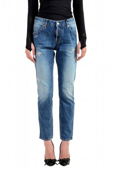 "Dsquared2 Women's ""Cool Girl Jean"" Blue Slim Jeans"