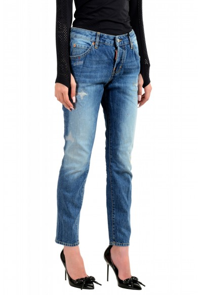 """Dsquared2 Women's """"Cool Girl Jean"""" Blue Slim Jeans: Picture 2"""