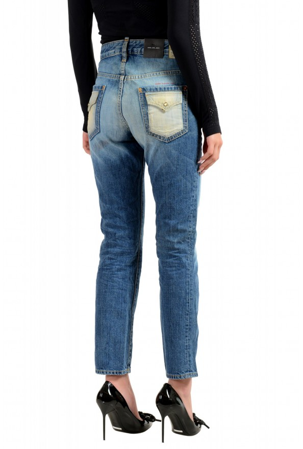 """Dsquared2 Women's """"Cool Girl Jean"""" Blue Slim Jeans: Picture 3"""