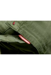 """Dsquared2 Women's """"Medium Waist Twiggy Jean"""" Olive Green Jeans: Picture 5"""