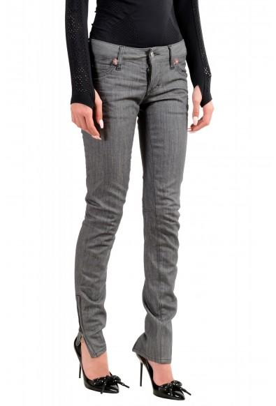 """Dsquared2 Women's """"Super Slim Jean"""" Gray Wash Jeans: Picture 2"""