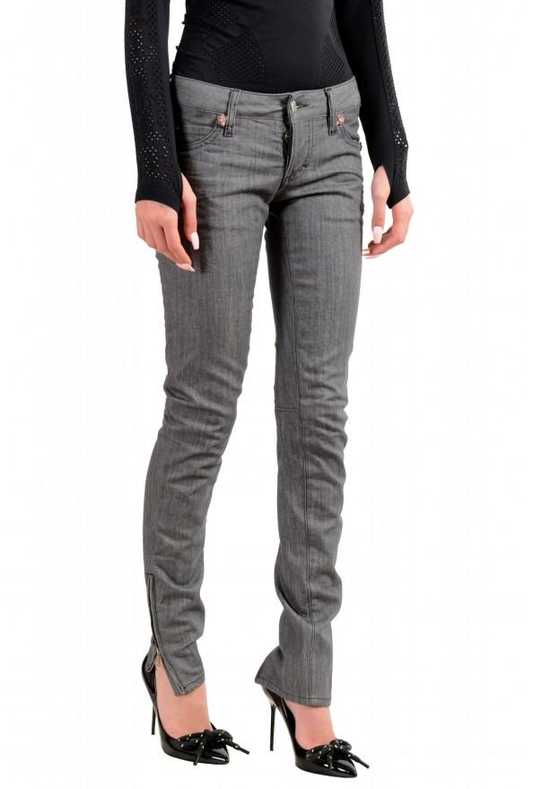 """Dsquared2 Women's """"Super Slim Jean"""" Gray Wash Jeans : Picture 2"""