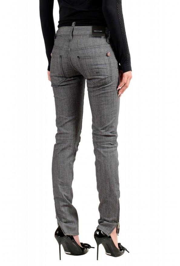 """Dsquared2 Women's """"Super Slim Jean"""" Gray Wash Jeans : Picture 3"""