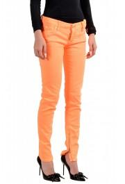 "Dsquared2 Women's ""Skinny Jean"" Colored Orange Jeans: Picture 2"