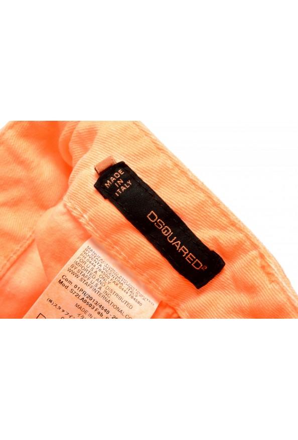 "Dsquared2 Women's ""Skinny Jean"" Colored Orange Jeans: Picture 5"