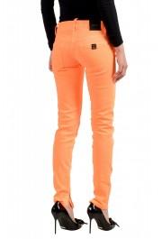 "Dsquared2 Women's ""Skinny Jean"" Colored Orange Jeans: Picture 3"