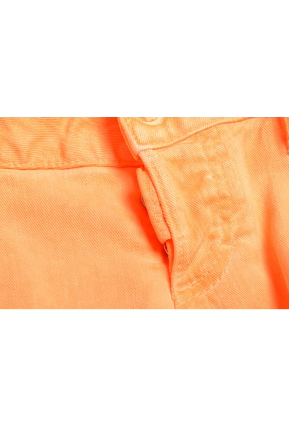 "Dsquared2 Women's ""Skinny Jean"" Colored Orange Jeans: Picture 4"