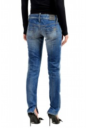 """Dsquared2 Women's """"Skinny Jean"""" Distressed Blue Wash Jeans: Picture 3"""