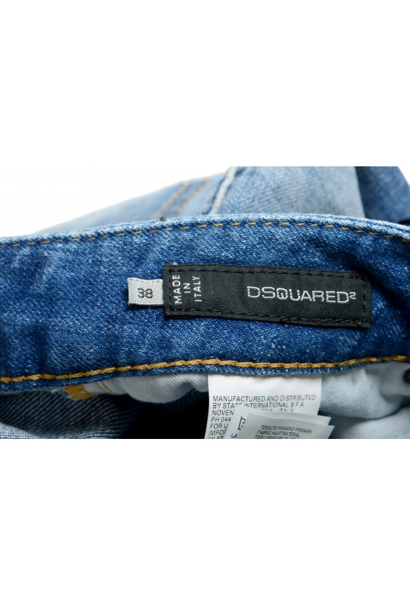 """Dsquared2 Women's """"Skinny Jean"""" Distressed Blue Wash Jeans: Picture 5"""