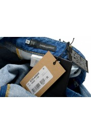 """Dsquared2 Women's """"Skinny Jean"""" Distressed Blue Wash Jeans: Picture 6"""