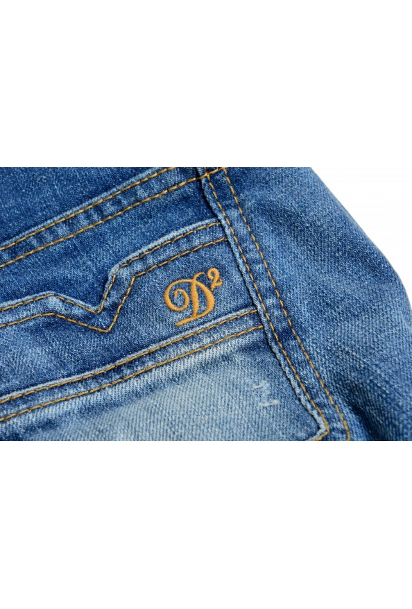 """Dsquared2 Women's """"Skinny Jean"""" Distressed Blue Wash Jeans: Picture 7"""
