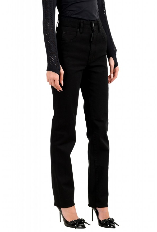 """Dsquared2 Women's """"Mert & Marcus 1994"""" Black Wash Jeans : Picture 2"""