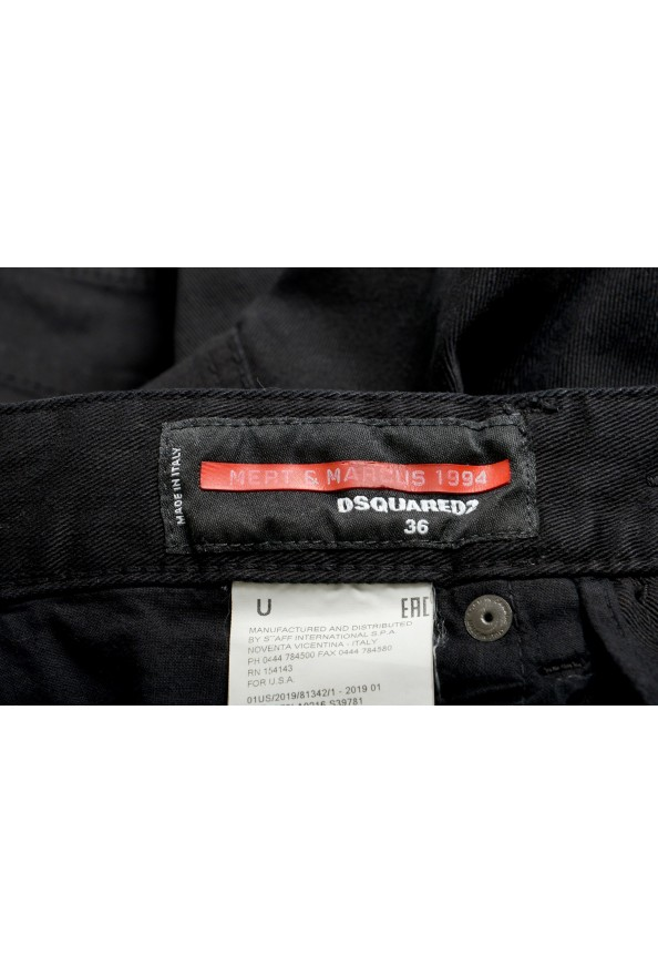 """Dsquared2 Women's """"Mert & Marcus 1994"""" Black Wash Jeans : Picture 4"""