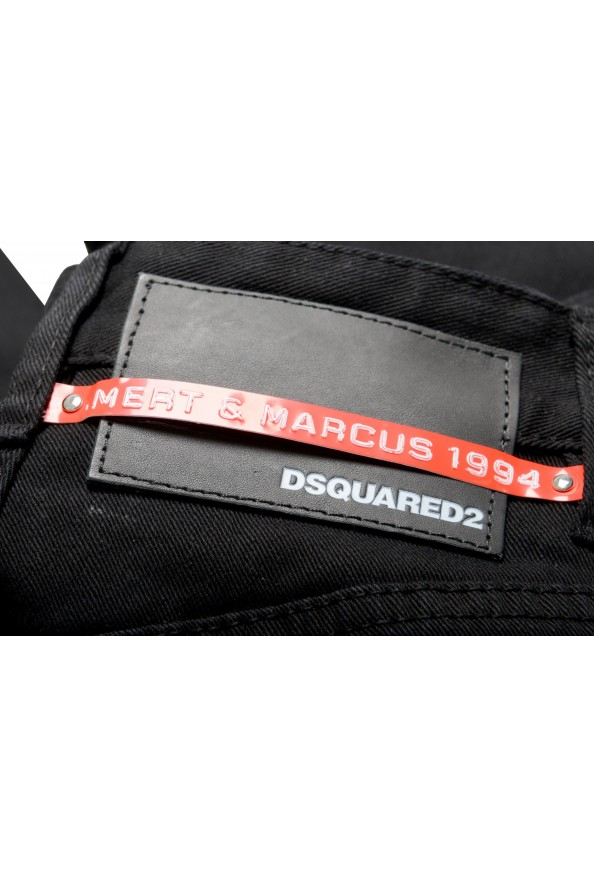"""Dsquared2 Women's """"Mert & Marcus 1994"""" Black Wash Jeans : Picture 6"""