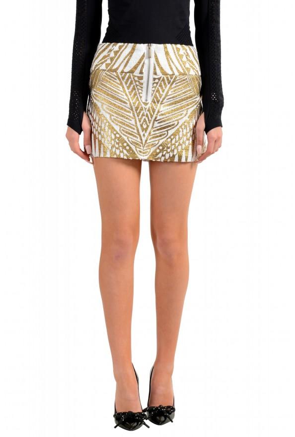 Just Cavalli Women's Multi-Color Mini Skirt