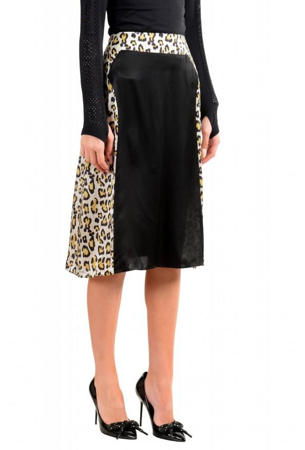 Just Cavalli Women's Multi-Color 100% Silk A-Line Skirt: Picture 2