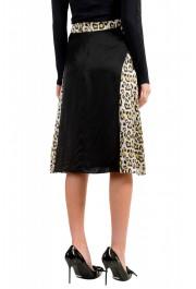 Just Cavalli Women's Multi-Color 100% Silk A-Line Skirt: Picture 3