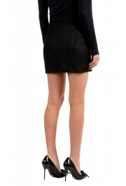 Dsquared2 Women's Black Metal Chain Decorated Mini Skirt: Picture 3