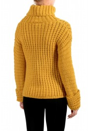 Moncler Women's Mustard Yellow 100% Wool Turtleneck Pullover Sweater : Picture 4