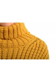 Moncler Women's Mustard Yellow 100% Wool Turtleneck Pullover Sweater : Picture 5