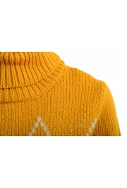 Moncler Women's Mustard Yellow 100% Wool Turtleneck Pullover Sweater: Picture 4