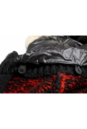 Moncler Women's 100% Wool Hooded Cardigan Sweater: Picture 6