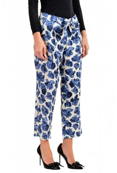 Dsquared2 Women's Floral Print Linen Pants : Picture 2