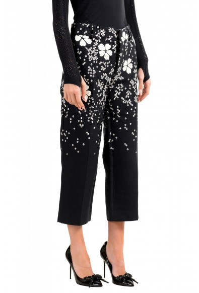 Dsquared2 Women's Multi-Color Silk Casual Cropped Pants: Picture 2