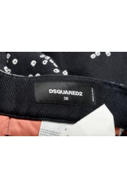 Dsquared2 Women's Multi-Color Silk Casual Cropped Pants: Picture 4