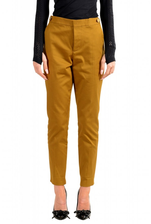 Dsquared2 Women's Mustard Brown Casual Pants